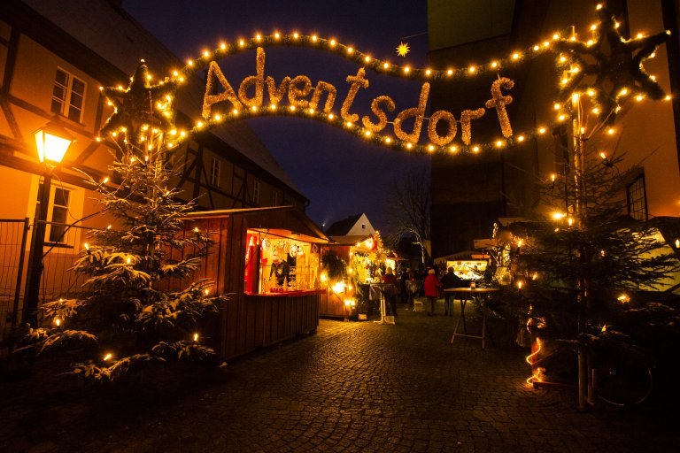 Adventsdorf in Wassertrüdingen