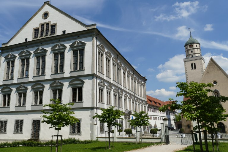 Residenzschloss Oettingen Außenansicht
