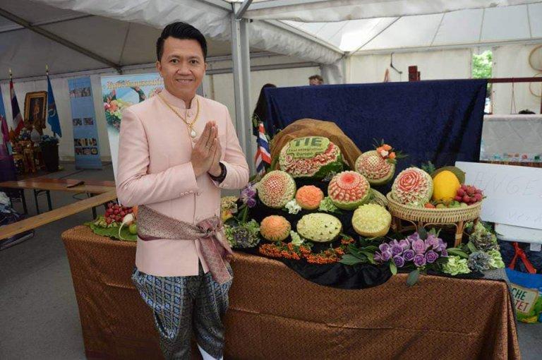 Thailandfest 2019 Top Carver Somlux Ouklai Kunstwerke