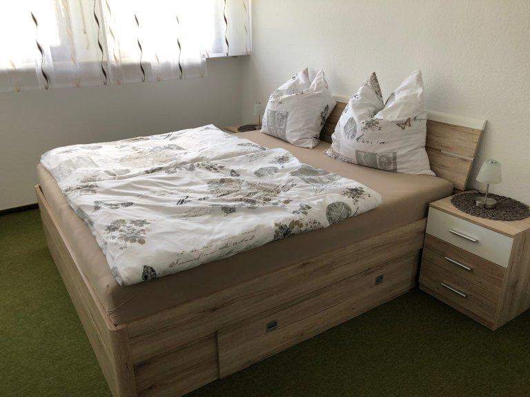 Schlafzimmer Ferienwohnung bei Küffners