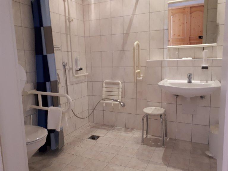 Strandhotel Seehof Badezimmer