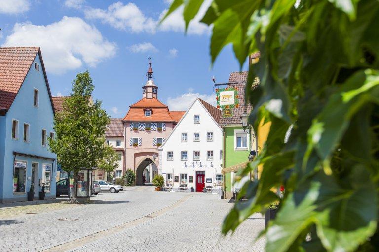 Stadttor Wassertrüdingen Beatrix Getze